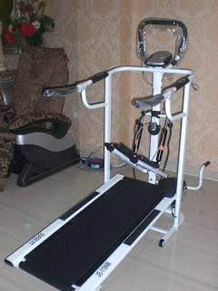 Treadmill manual murah 4 fungsi SN-2014