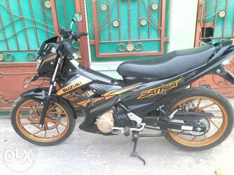 Suzuki Satria FU 150 th 2014 Limited Edition . remote alarm. km rendah