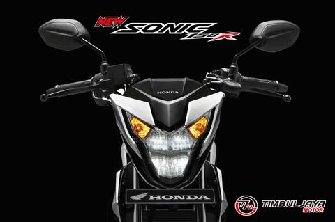 Terima indent motor Honda New Sonic 150 R dan the all new CB 150 R