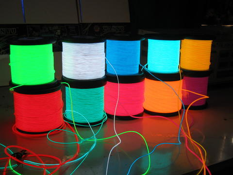 <MUST HAVE> D.I.Y Elwire (Electroluminescent wire) satuan / grosir (jual meteran)