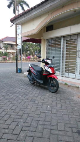Honda Spacy PGM-fi, helm in, th 2014 (bukan mio, nouvo, vario, beat, scoopy)
