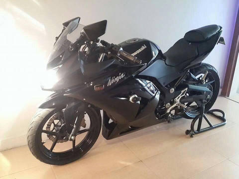 Ninja 250 r 2008 Built-uop Low Miles and Full Branded Modif