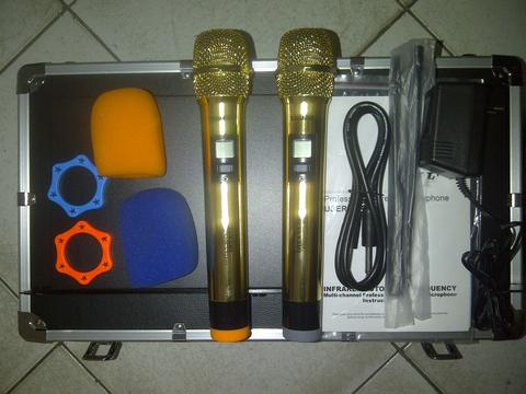 Jual Shure BLX 6/KSM 9-Gold, Digital frequency.