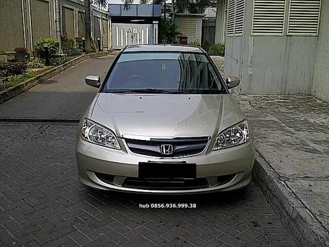 Honda CIVIC VTI- S 2004 Automatic Original Jok kulit