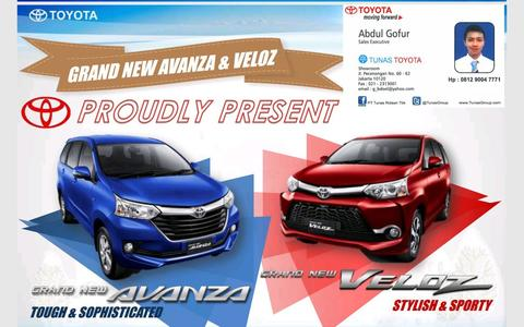 TOYOTA GRAND NEW AVANZA 2015 TDP 17 JT , READY !! NEGO