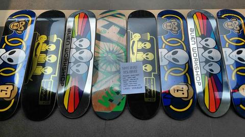 DECK PAPAN SKATEBOARD ALIEN WORKSHOP AWS 2015