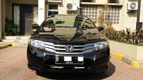 Honda City S I-VTEC A/T 2009 Black