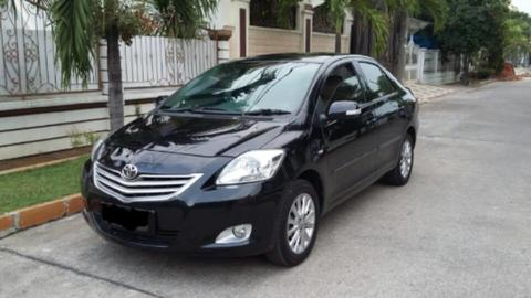Jual Mobil Toyota Vios New Model tipe G Automatic Hitam 2011 Record Auto 2000