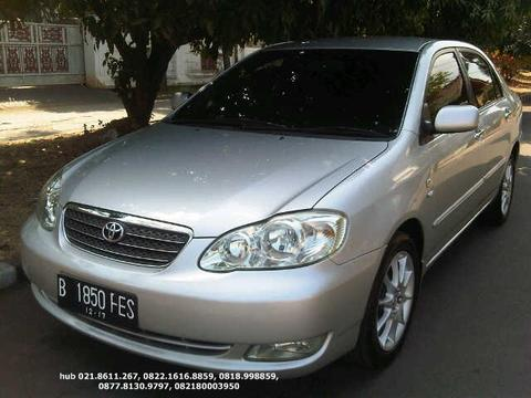 Toyota Corolla Altis G Manual th.2005 Silver Met istimewa