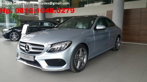 [ WTS ] Ready stock New Mercedes Benz C250 AMG tahun 2015 - Warna Silver