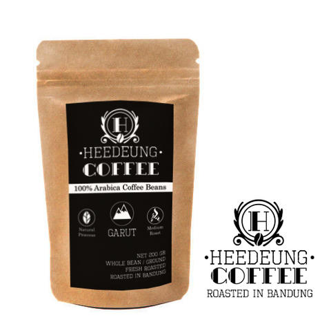 HEEDEUNG Coffee - Premium Single Origin Arabica - Biji Kopi Arabica / Bubuk - 100 GR