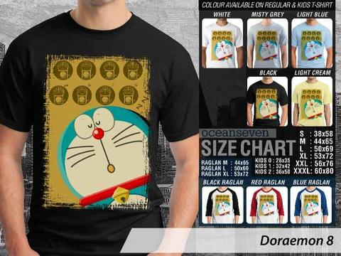 KAOS DISTRO DORAEMON GRAPHIC & FITNESS SERIES ==ALL ITEM READY STOCK==