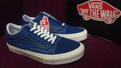 Terjual VANS OLD SKOOL (VINTAGE) TRUE BLUE BLACK IRIS SIZE-7 US 39 ... 07894a6ad0fb