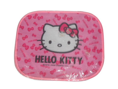 TUTUP KACA MOBIL HELLO KITTY PINK