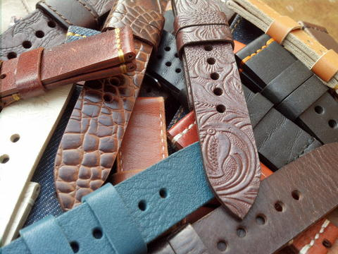 (PART 37) Leather Strap Vintage uk 18/20/22/23(luminox)/24mm.