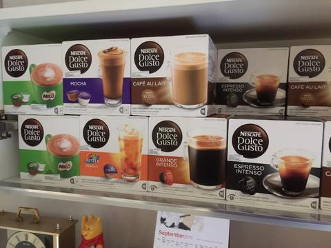 Jual Capsules Nescafe Dolce Gusto