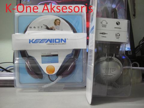 K-One Aksesoris : Speaker , Headset Keenion
