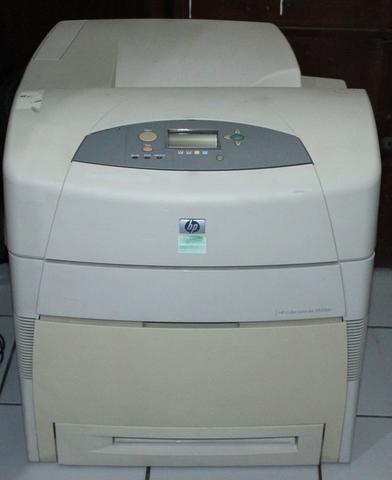 Printer Laserjet color HP 5550DN bisa kertas A3