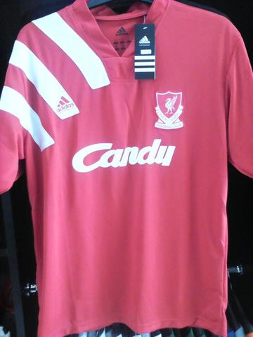 JERSEY RETRO LIVERPOOL 1991 CANDY