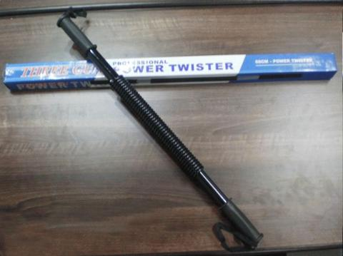 Power Twister Tongkat Stick Elastis Alat Pembentuk Otot
