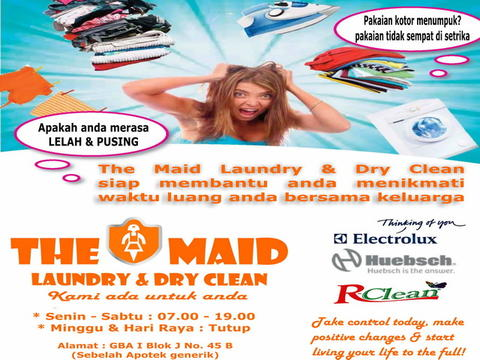 THE MAID - LAUNDRY & DRY CLEANING