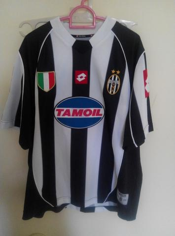 Jersey Juventus Home 2002 - 2003 Coppa Italia Size Large Original Lotto #10 ADP