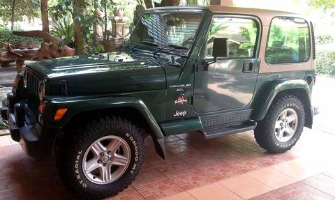 Jeep Wrangler TJ Renegade Th.2000,km.51rb.stnk an sendiri