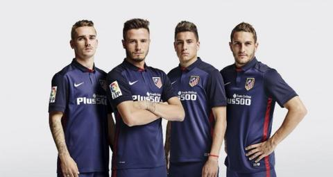Jersey Atletico Madrid Away 2015/2016 Official Medioker Top