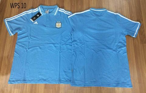 POLO SHIRT BOLA NEGARA GERMANY/JERMAN ARGENTINA PRANCIS/FRANCE SPANYOL DLL