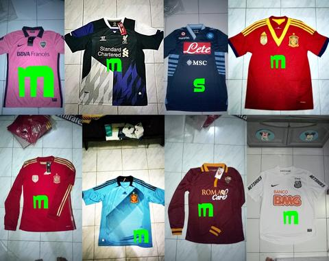 Obral Jersey Boca Spain LS Roma LS Santos Napoly Liverpool