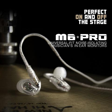 [MVPcomp] Earphone IEM Meelectronics M6 Pro In-Ear Monitor with Detachable Cable