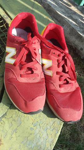 New Balance 373 Red Yellow second muluss