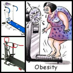 TREADMILL ANTI OBESITAS
