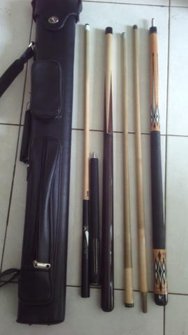 WTS paketan stick billiard branded.