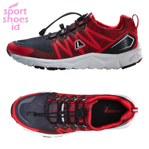 LEAGUE KUMO 1.5 KB / BLACK RED / RUNNING SHOES