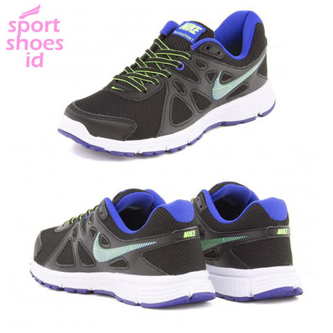 WMNS NIKE REVOLUTION 2 MS / BLACK BLUE / 100% ORIGINAL BNIB