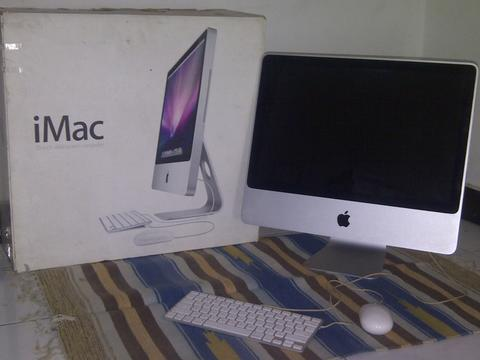 APPLE iMAC 9,1 (early 2009) SSD - Mint Condition (Bandung / Bdg)