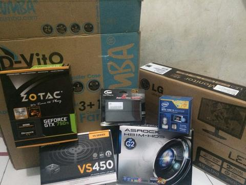 PC Gaming (Intel i5 4440, GTX 750, RAM 8GB, MB Asrock H81M-HDS, 1TB )