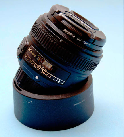 Jual lensa Nikon fix AF-S 50mm 1.8G ex alta (like new)