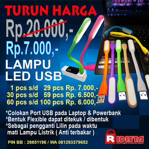 Lampu LED USB