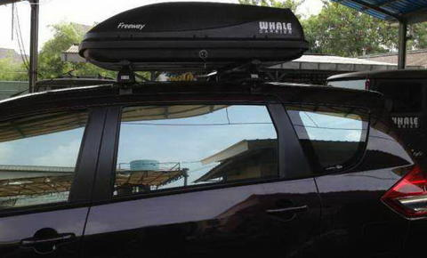 gudang roofbox whale carrier