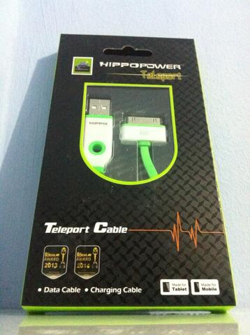 HIPPO DYNAMIC CHARGER, TELEPORT FAST CHARGING KABEL & DATA MICRO & IPHONE 4/5/6
