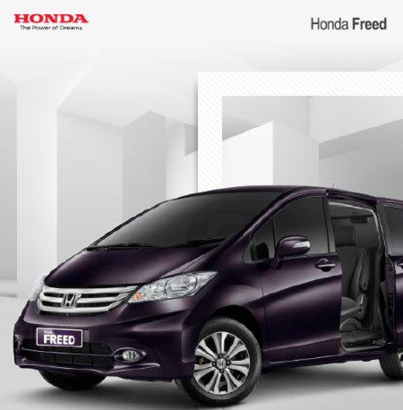 Honda Freed dp 40 juta / angs 3 jutaan