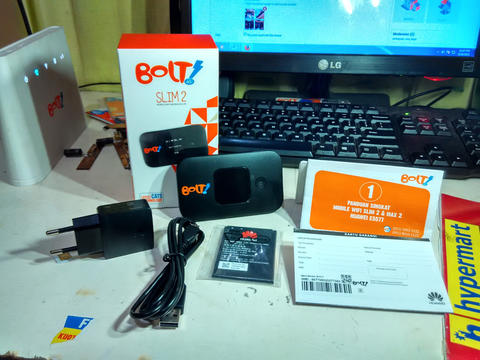 Modem Bolt Orion,Slim2,E5776,Smartfren 4G 10gb,ISAT 18GB,Bolt 8GB,3AON,Baterai Dummy