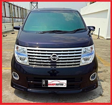 Nissan Elgrand 2007 / 2008 HWS 2.5 Matic Hitam Like New