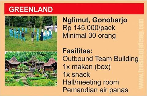 Outbound Training Jawa Tengah- Greenland