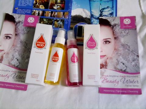 Beauty Water Spray+STRONG ACID SPRAY