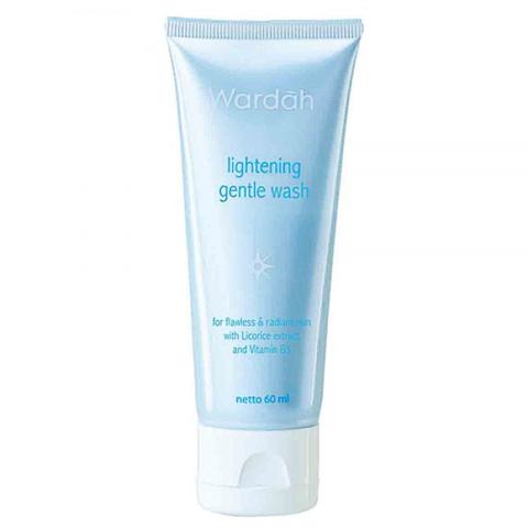 Wardah Lightening Gentle Wash 60 ml