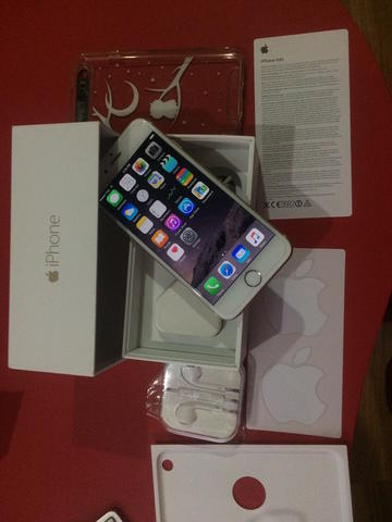 iPhone 6 Gold 128GB Like New mural crept aja
