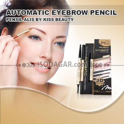 JUAL AUTOMATIC EYEBROW PENCIL BY KISS BEAUTY *hp: 0878 8585 6222